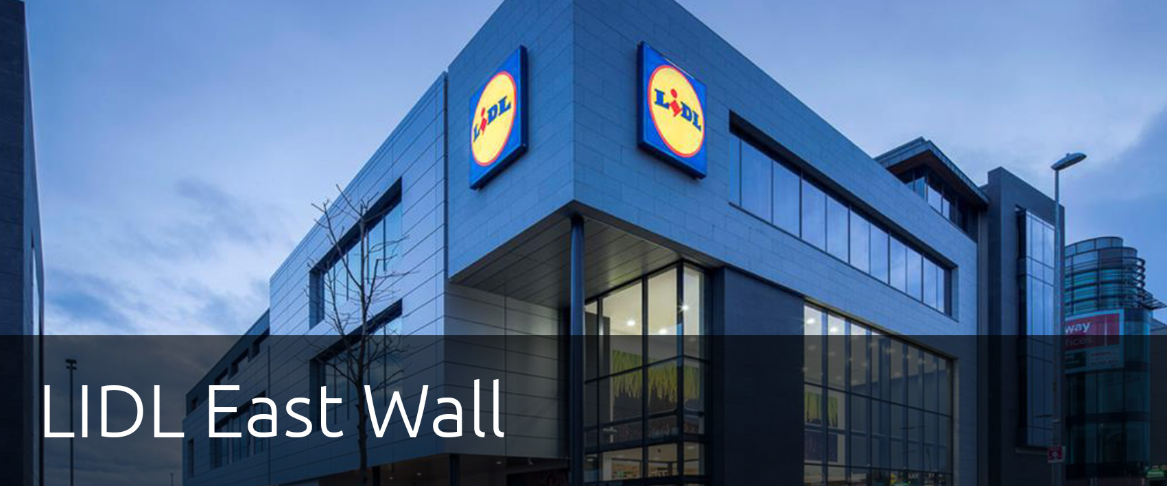 Lidl East Wall by Mannings